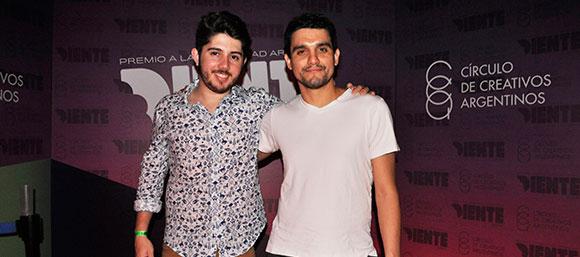 Isac Neto y Diego López, ganadores de un Oro en el Diente 2014