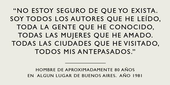 Borges Anda Diciendo