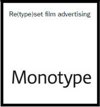 Brief-Monotype